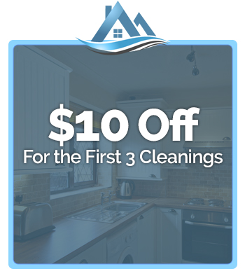 $10 Off - For the First 3 Cleanings
